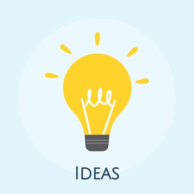 Idea Bulb Vectors, Photos and PSD files Free Download
