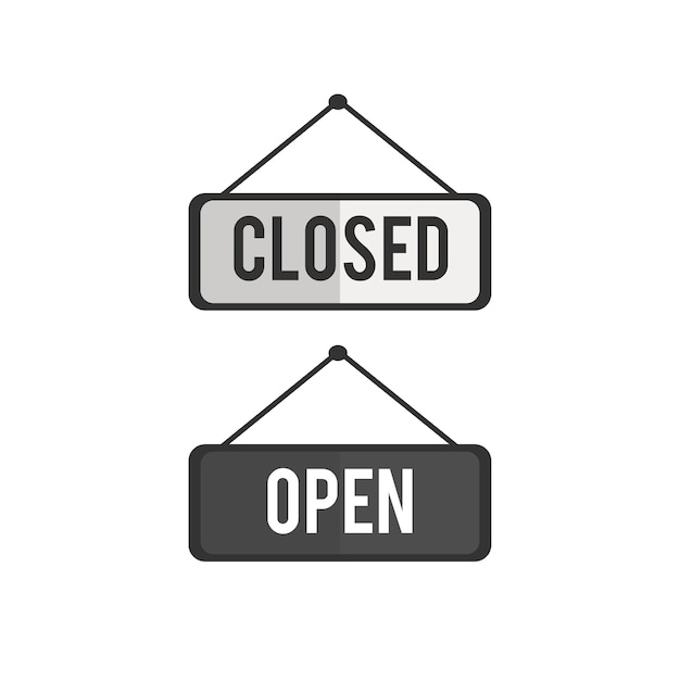 Closed Vectors, Photos and PSD files Free Download - holiday closure sign template