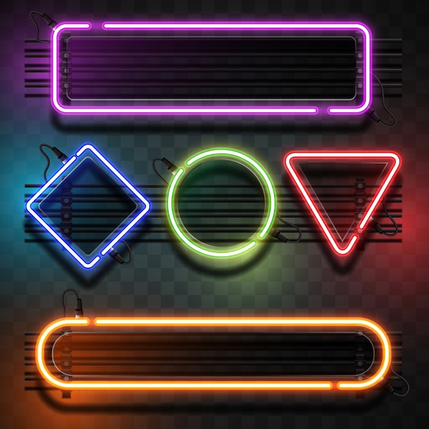 Neon Vectors, Photos and PSD files Free Download - neon lettering