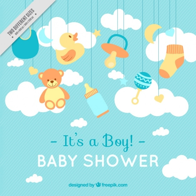 Baby Shower Vectors, Photos and PSD files Free Download - baby shower invitation template download