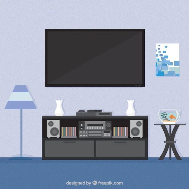 Living room interior Vector Free Download - free living room furniture