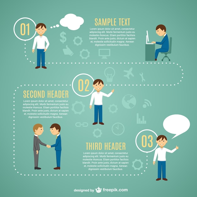 Looking for job infographic template Vector Free Download - job template