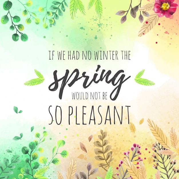 Lovely spring background Vector Free Download - photo of spring