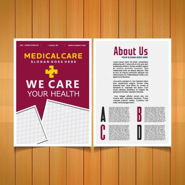 Medical brochure template Vector Free Download - free medical brochure templates