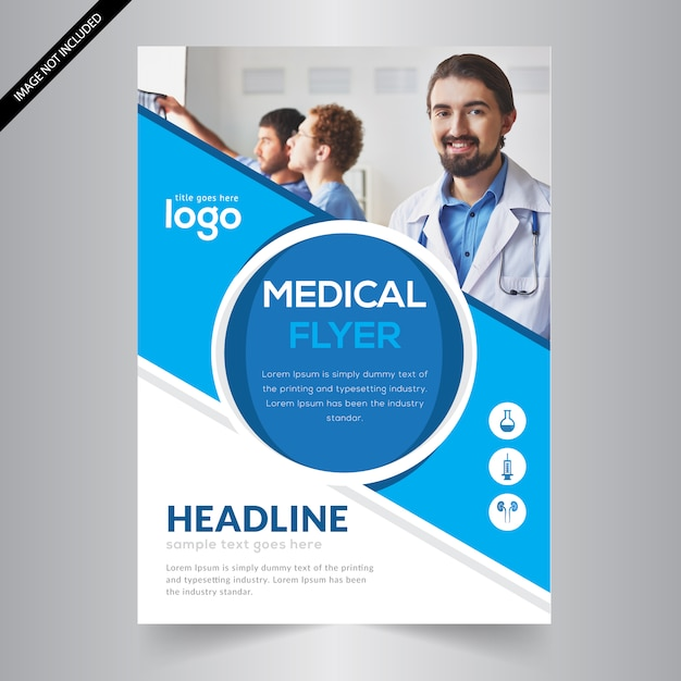 Medical Flyer Template Vector Premium Download