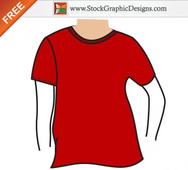 Men\u0027s Basic T shirt Mockup Template Vector Vector Free Download