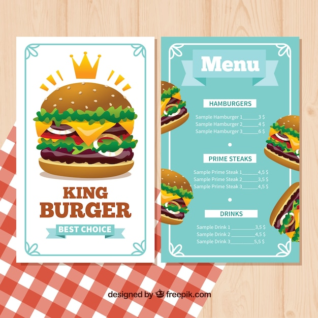 Sample Menu Template Restaurant Menu Template Paper Background