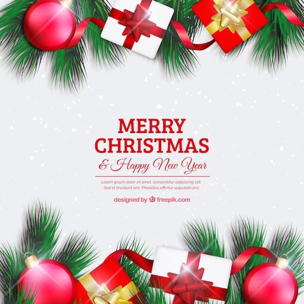 Merry christmas background with elements Stock Images Page