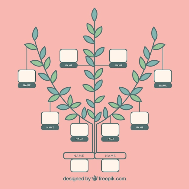 Minimalist family tree template Stock Images Page Everypixel