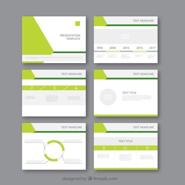 Modern business presentation template Vector Free Download - presentation template