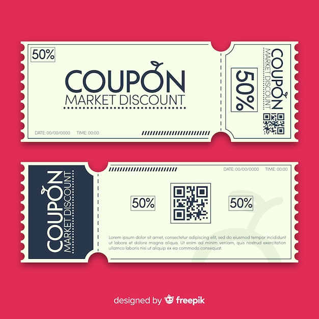 coupon template - Barcaselphee