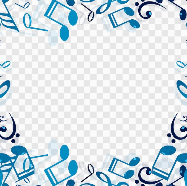 Modern music background template Vector Free Download