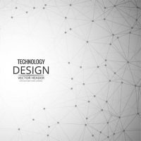 Modern technology background Vector | Free Download
