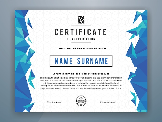 Certificate templates resume templateasprovider certificate template vectors photos and psd files free download certificate templates yadclub Choice Image