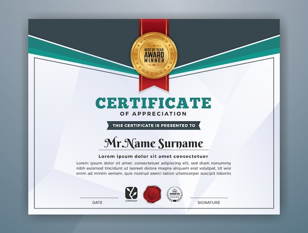 Free Professional Certificate Templates - mandegarinfo - Free Professional Certificate Templates