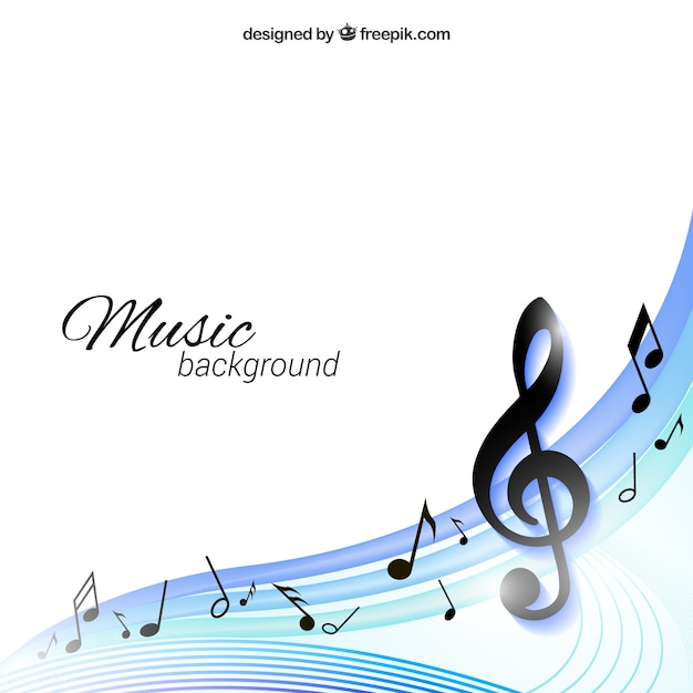 Music background Vector Free Download