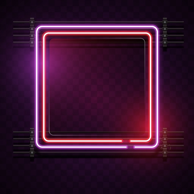 Light Effect Hd Wallpaper Neon Square Background Vector Free Download