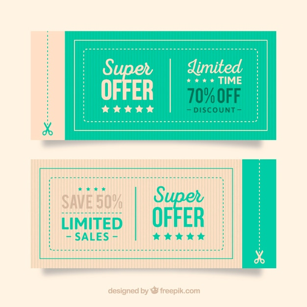 20+ Free Coupon and Gift Voucher Templates Vector Download - coupon voucher template