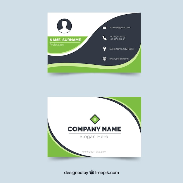 Business Card Vectors, Photos and PSD files Free Download - name card