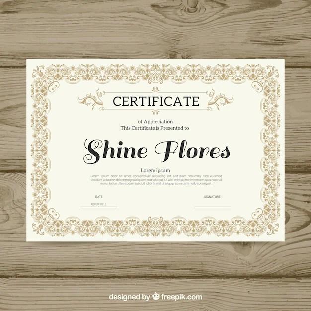 Certificate Border Vector Images - creative certificate design