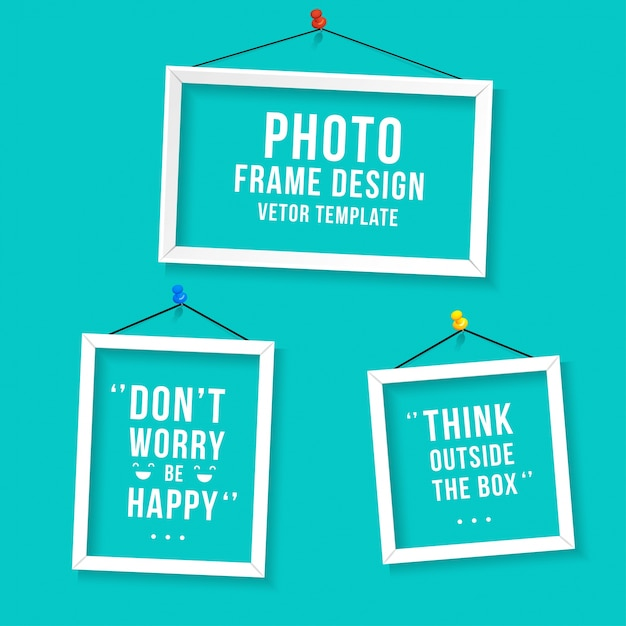 Photo Frame Vectors, Photos and PSD files Free Download