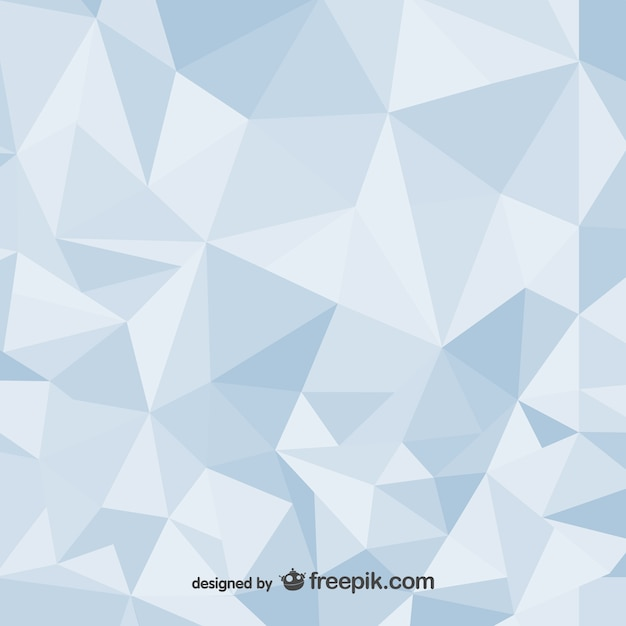 Polygonal abstract background design Vector Free Download