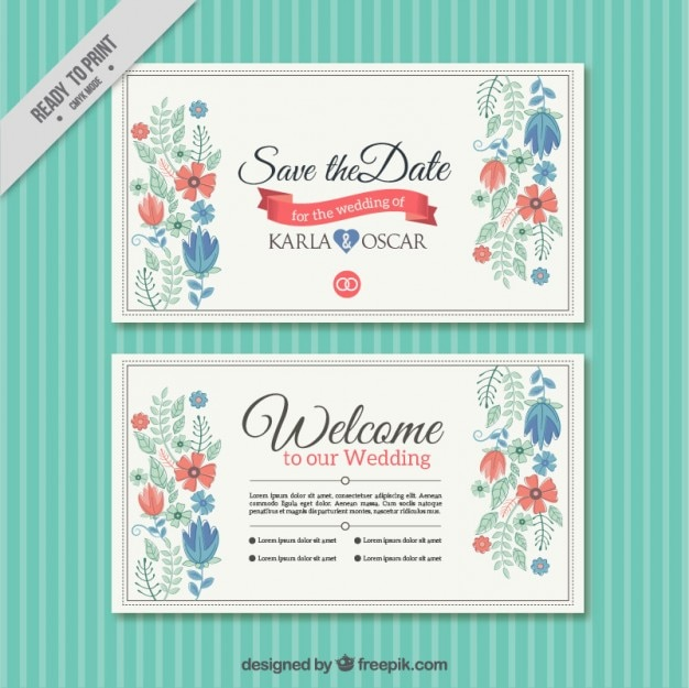 Wedding Card Free Templates wblqual