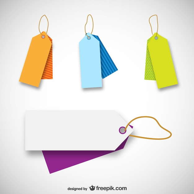Price tag templates Vector Free Download - abel templates psd