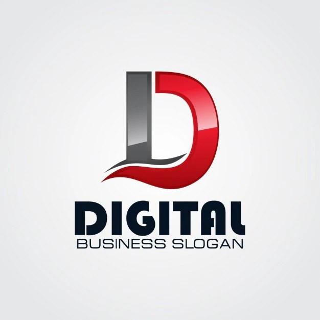 Professional Letter D Logo Vector Free Download