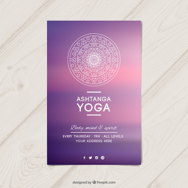yoga flyer design - Onwebioinnovate - yoga flyer