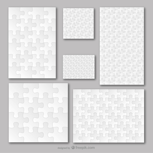 Puzzle Vectors, Photos and PSD files Free Download