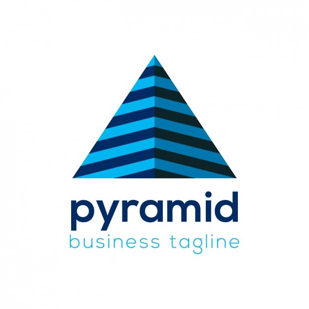 Pyramid Business Logo Template Vector Free Download - pyramid template