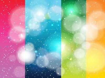 Rainbow stripes galaxy cool backgrounds Vector | Free Download