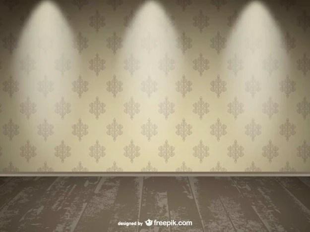 3d Brick Wallpaper White Realistic Empty Wall Spotlight Design Vector Free Download