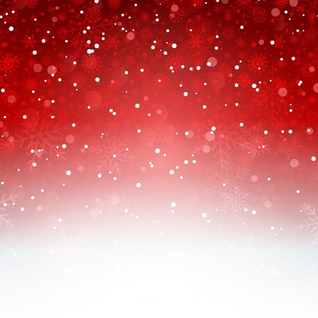 Animated Christmas Tree Wallpaper Red Background With Snowflakes Vector Free Download