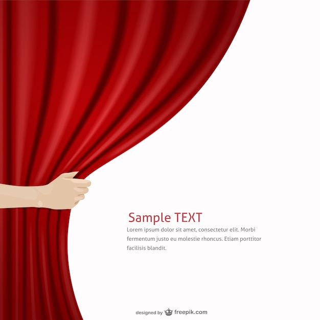 This background for your scene, movie, stage, business and other - free event invitation templates