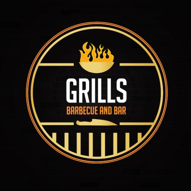 Restaurant logo design Vector Free Download