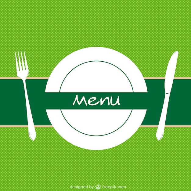 Restaurant menu background vector Vector Free Download