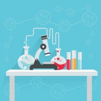 Science background design Vector | Free Download