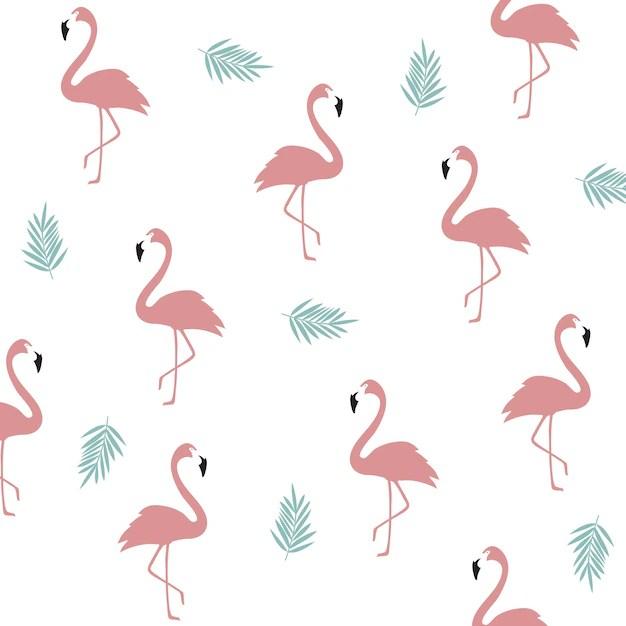 Vintage Map Iphone Wallpaper Seamless Flamingo Pattern Background Flamingo Poster