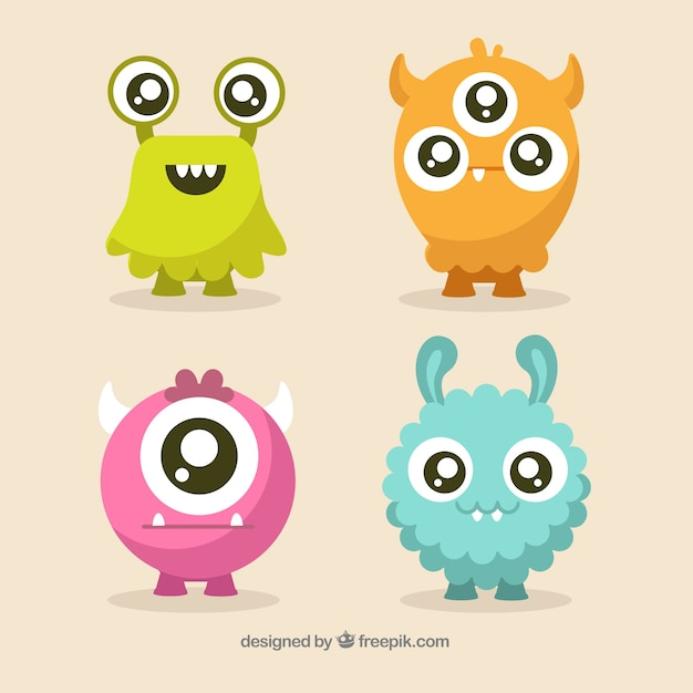Monster Vectors, Photos and PSD files Free Download
