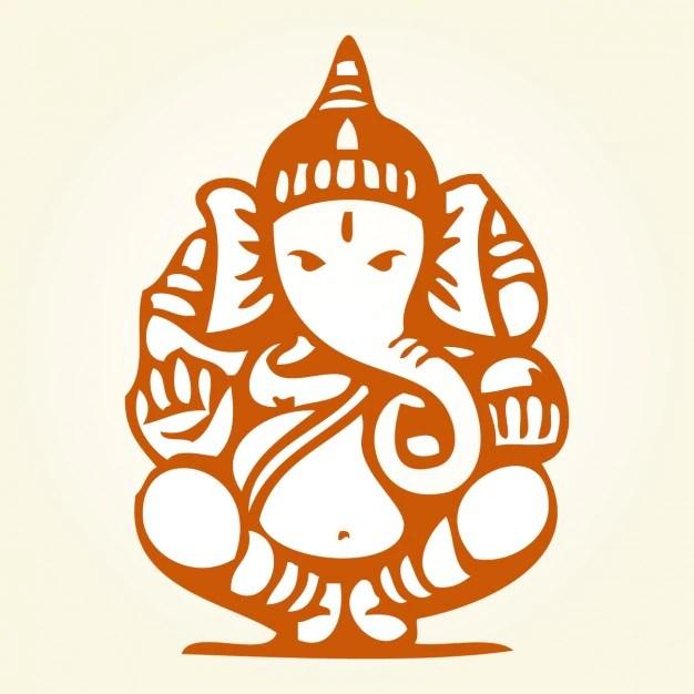Ek Onkar Hd Wallpaper Sitting Ganesha Drawing Vector Free Download