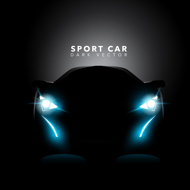 Black Design Wallpaper Sport Car Background Design Vector Premium Download