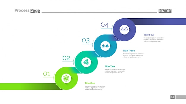 Staged business growth steps slide template business data graph - Project Design Template