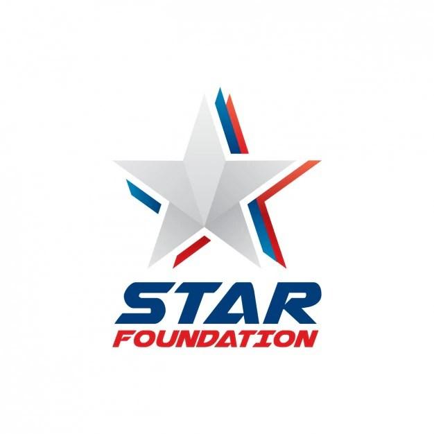 Star foundation logo Vector Free Download