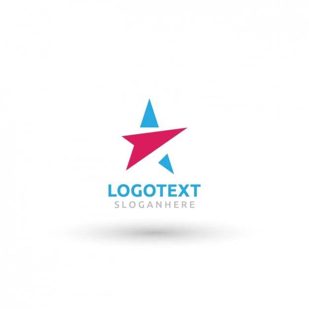 Star logo Vector Free Download