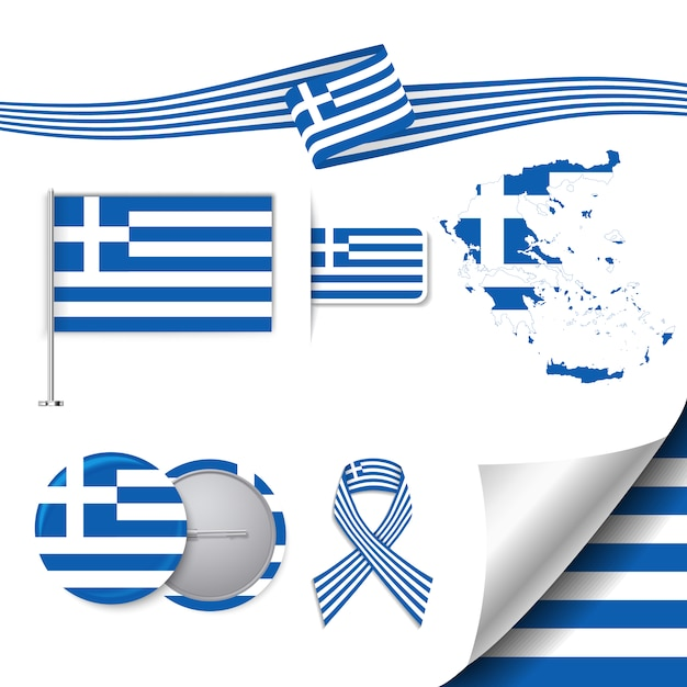 Greek Flag Vectors, Photos and PSD files Free Download