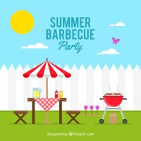 Bbq Party Clip Art | www.pixshark.com - Images Galleries ...