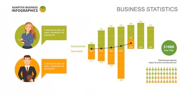 Timeline Chart Slide Template Vector Free Download - template for timeline chart