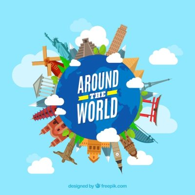 Around Vectors, Photos and PSD files   Free Download